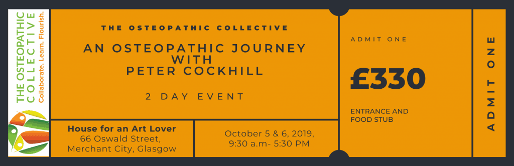 The OSTEOPATHIC COLLECTIVE TICKET